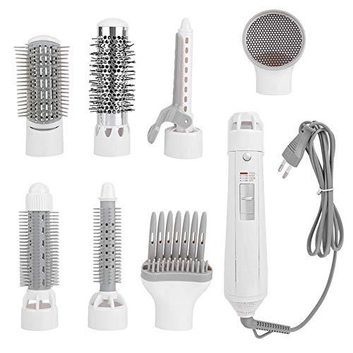 Secador de pelo 7 en 1, cepillo de aire caliente, peine, multifunción, un paso, secador de pelo eléctrico multifuncional (cepillo de aire caliente 7 en 1)