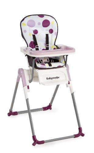 Babymoov A010003 Hochstuhl Slim, pflaume