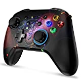 Gaming Controller,Wireless Controller for Nintendo Switch Bluetooth Gamepad Joypad Remote Joystick for Switch/PC/Switch Lite, Black.