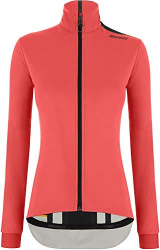 Santini Vega Multi-Weather Winterjacke Damen Grenadine/Fluo Coral Größe S 2020 wasserdichte Jacke