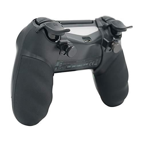 Mcbazel Honcam FPS Trigger Stop & Grip Cover for PS4 Controller - Black