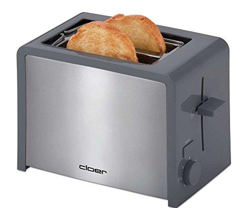 cloer Toaster in grau
