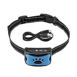 𝐑𝐞𝐠𝐚𝐥𝐨 𝐝𝐞 𝐍𝐚𝒗𝐢𝐝𝐚𝐝 Collar antiladridos Recargable para Perros - Collar antiladridos para Perros pequeños - Dispositivo de Control de ladridos Collar antiladridos Impermeable Recargable D