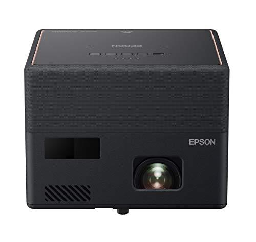 Epson EF-12 - Proiettore laser portatile 3LCD (Full HD 1920 x 1080p, 1000 lumen, luminosità di colore e bianco, rapporto di contrasto 2.500.000:1, solo 1,2 kg di peso, Android TV integrato, HMDI)