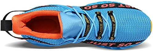 COKAFIL Mens Running Shoes Athletic Walking Blade Tennis Shoes Fashion Sneakers