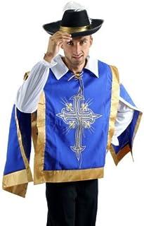 125f23e8bc3f DRESS ME UP - Set costume da Uomo, Moschettiere, Pirata, Soldato, Barocco