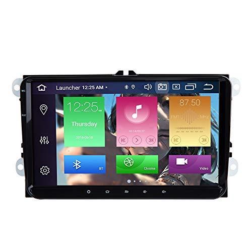 BOOYES per VW Volkswagen Golf Polo Caddy Amarok Passat Seat Skoda Touran per Tiguan Android 10.0 Octa Core 4GB RAM 64GB Rom 9' Autoradio Stereo GPS Sistema Car Multimedia Player Supporto 4G WiFi Dab