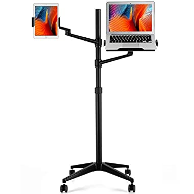 viozon Tablet and Laptop Floor Stand, 2-in-1...