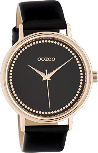 OOZOO Timepieces Zwart horloge C10429 (42 mm)