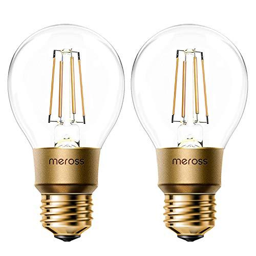 Ampoule Connectée WiFi, Ampoule Edison LED Compatible avec...