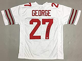 Eddie George Autographed Signed Ohio State Buckeyes Jersey - JSA Certified