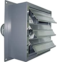 Canarm Wall Exhaust Fan - 16in. Variable Speed, 1/3 HP, 2370 CFM, Model Number S16-EVD