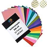 OfficeTree® Papel de Seda 360 Hojas A4-26 Colores - más diversión en Sus...