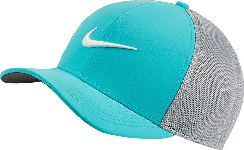 Nike AeroBill Classic99 Mesh Golf Cap 2019 Cabana/Wolf Gray/Sail One Size Fits All