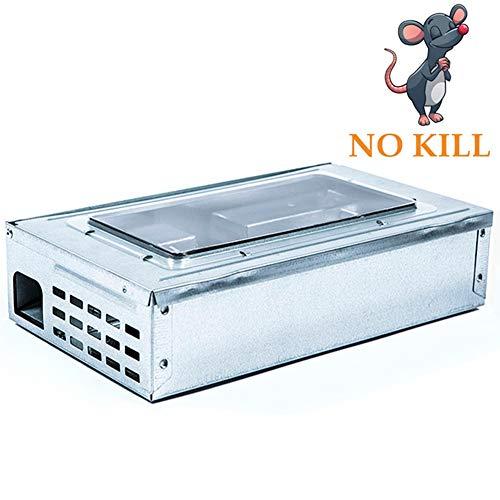 SHUPIAN Premium Mouse Trap Professional Plastic Mousetraps, Reusable Rat Trap Generic Mouse Human Live Trap Animal Rodent Mouse, Practically E Safe, 4pieces