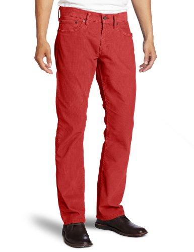 Levi's Mens 514 Straight Corduroy Pant, Auburn, 32x32
