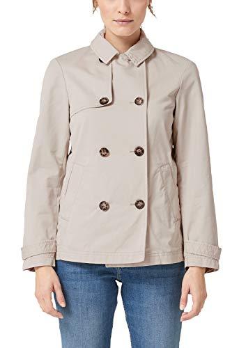 s.Oliver RED Label Damen Jacke im Trenchcoat-Stil Cotton 40