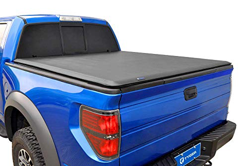Tyger Auto T1 Soft Roll Up Truck Bed Tonneau Cover for 1982-2013 Ford Ranger 1994-2010 Mazda B-Series Styleside 6' Bed TG-BC1F9025, Black