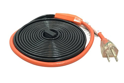 Frost King HC12A Heating Cables, 12 Feet, Black, Ft