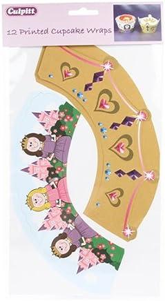Princess Cupcake Wrappers