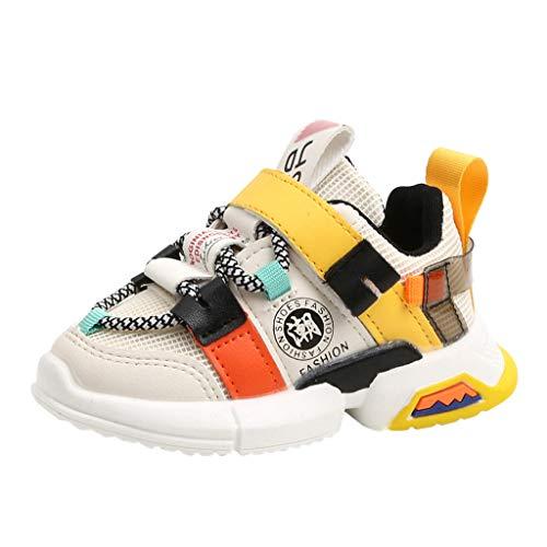 ZODOF Toddler Kids Sport Running Zapatos para bebés Boys Girls Mesh Soft Sole Shoes Sneakers Zapatos Zapatillas Respirable Mocasines Deportes Sneaker Malla