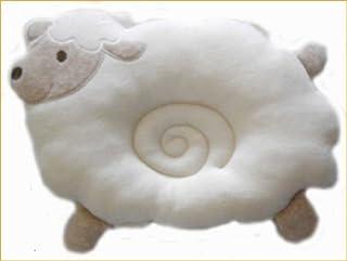 ベビー枕 授乳枕 抱っこ枕 腕枕 ドーナツ枕 ひつじさん オーガニックコットン製 日本製 ベビー雑貨 日本製 ビセラ ベビー用品 出産祝い ギフト
