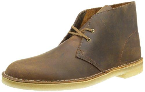 Clarks Desert Boot, Herren Desert Boots Kurzschaft Stiefel & Stiefeletten,Braun (Beeswax), 44.5 EU (10 Herren UK)