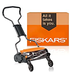 powerful Fiskars StaySharp Max 362050-1001 (18 inches) Cylinder Mower
