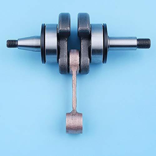 Haoyueda Kit de cojinete de bolas de sello de aceite del cigüeñal Compatible con Jonsered CS2245 CS2250 CS 2250 2245 S Piezas de repuesto de reemplazo del eje de motosierra