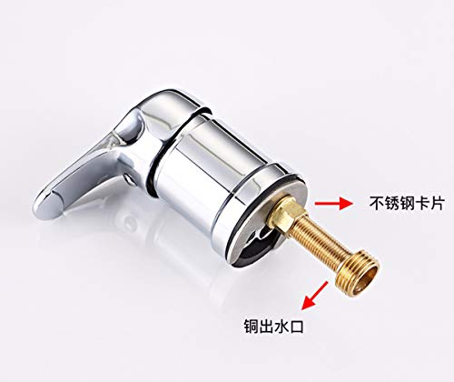 FYERBU Hairdresser Shampoo Bed Faucet All Copper Main Switch Hairdressing Shop Mixing Valve Hairpin Mixing Water Valve Accessories Shower