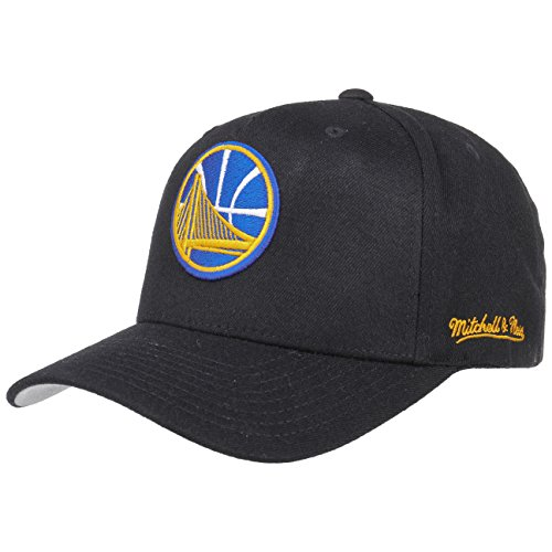 Mitchell & Ness Golden State Warriors INTL132 110 Curved Eazy NBA Flexfit Snapback Cap One Size