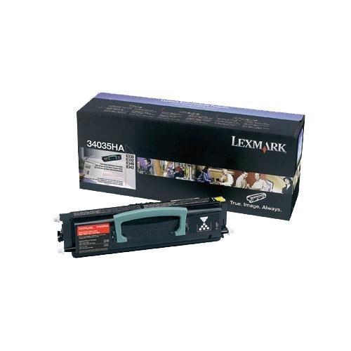 Lexmark 34035HA Laser Toner Cartridge - Black High Capacity, Works for E330, E332, E332n, E332tn by Lexmark