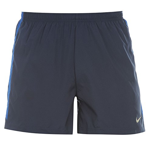 NIKE Kurze 4 Zoll Woven Shorts - Pantalones Cortos Deportivos para Hombre, Color Azul, Talla XL