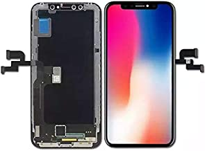 For iPhone X 5.8 inch LCD Display Screen Replacement Digitizer Full Assembly Touchscreen with 3D Touch in Black