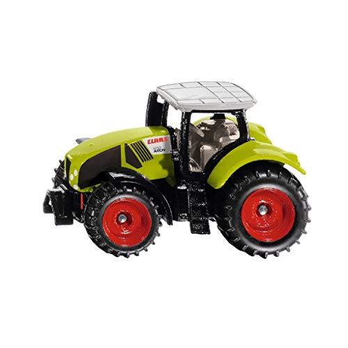 siku 1030, Claas Axion 950 Traktor, Metall/Kunststoff, Grün, Inkl. Anhängerkupplung, Räder mit gummierten Reifen