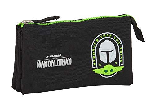 safta The Mandalorian, Noir/Vert fluorescent (Noir) - M744