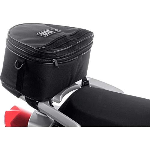 H&B Hecktasche Motorrad Motorradtasche Hecktasche Small Sport Star für BMW R 1200 GS, 15-25 Liter, Unisex, Multipurpose, Ganzjährig, Textil, schwarz