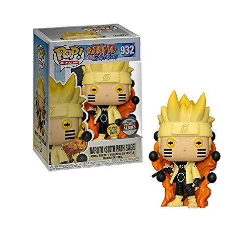 Boneco Pop Funko Naruto Shippuden Naruto Sixth Path Sage #932 Exclusivo Brilha no Escuro