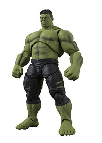 BANDAI- Hulk Figura 21 Cm Marvel Avengers Infinity War S.H.F