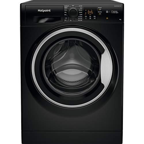 Hotpoint NSWM943CBSUKN 9Kg Washing Machine with 1400 rpm - Black