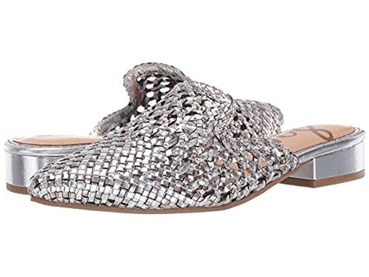 意味のあるケーキファイター[Sam Edelman(サムエデルマン)] レディースローファー?靴 Clara Silver/Pewter Woven Leather (24cm) M [並行輸入品]