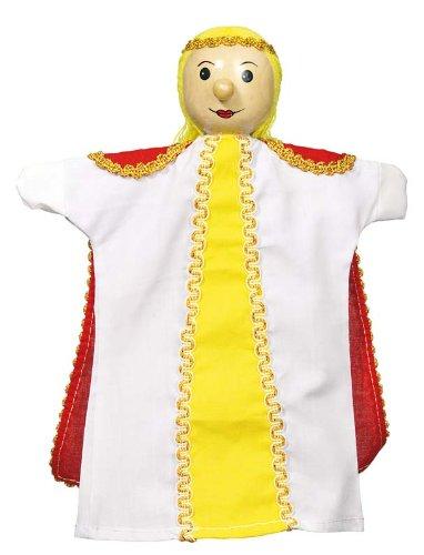 Goki - 2040605 - Marionnette À Mains en Peluche - Princesse