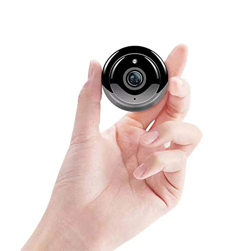 ENEM WQ11 Mini WiFi IP Wireless Security Camera, Small Size, Cloud Based Storage, Night Vision, Motion Detection, Two Way Communication, Supports Upto 64 GB Micro SD Card, Remote View from Anywhere