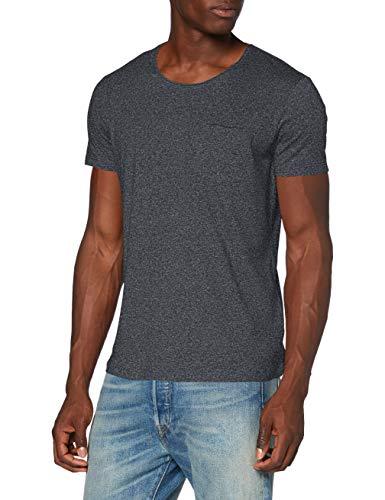 edc by ESPRIT Herren 990CC2K306 T-Shirt, 014/ANTHRACITE 5, XXL