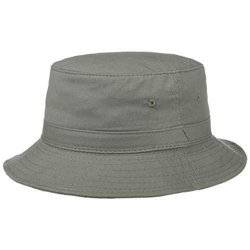Chapeaushop Bob - Sombrero de algodón con protección UV verde oliva X-Large