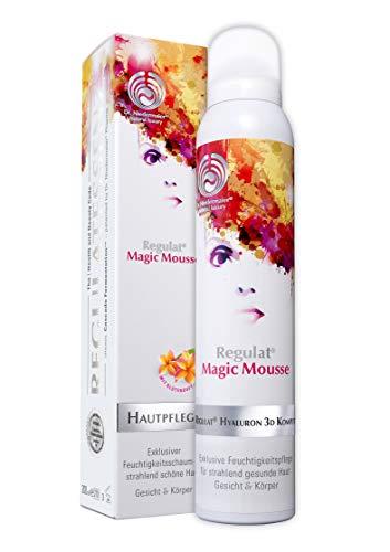 Dr. Niedermaier Regulat® Magic Mousse I Anti-Aging Gesichtspflege mit Hyaluronsäure I Hautpflege für unreine Haut, trockene Haut, fettige Haut und Mischhaut I 200ml