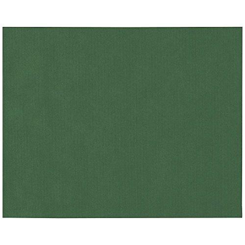Papstar 82324 Sets de Table, Non tissé, Vert foncé, 3,8 x 35 x 42 cm