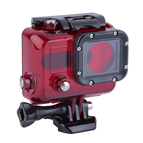 HehiFRlark - Carcasa para cámara de acción deportiva, resistente al agua