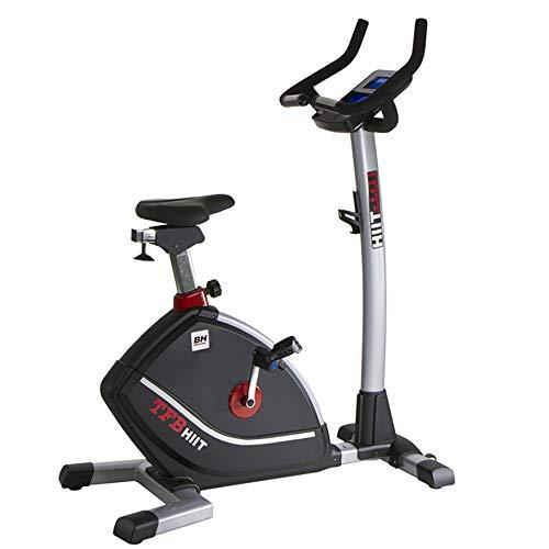 BH Fitness TFB HIIT DUAL H862H Heimtrainer - Fitnessbike - Ergometer - Anschluss von Smartphones/Tablets - HIT Monitor - Transporträder - Pulsmessung