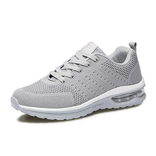 Axcone Herren Damen Sneaker Laufschuhe Sportschuhe Air Turnschuhe Running Fitness Sneaker Outdoors Straßenlaufschuhe Sports- 5066 GY 38
